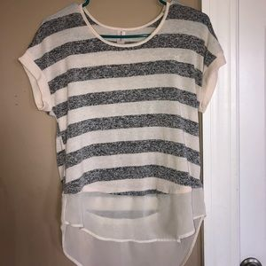 Tops - Striped Short Sleeve Shirt 3 FOR $10